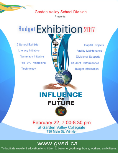 GVSD Budget Exhibition 2017 Poster 400