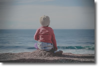 child on beach 190x127